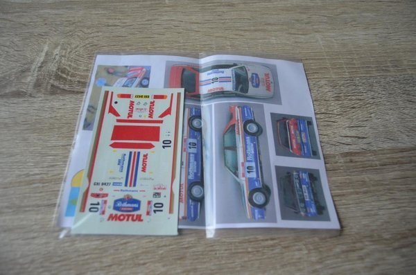 Rothmans Decal setje BMW M3 E30